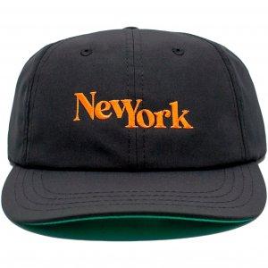 LICK NYC New York SSC Cap -ブラック・オレンジ