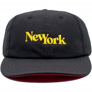 LICK NYC New York SSC Cap -ブラック・イエロー