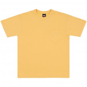 Belief NYC French Terry Pocket Tee  -バター