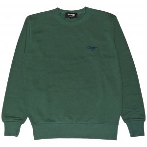 <img class='new_mark_img1' src='https://img.shop-pro.jp/img/new/icons1.gif' style='border:none;display:inline;margin:0px;padding:0px;width:auto;' />CROOZE Script Crewneck -アイビーグリーン