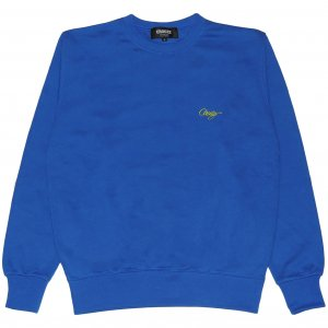 <img class='new_mark_img1' src='https://img.shop-pro.jp/img/new/icons1.gif' style='border:none;display:inline;margin:0px;padding:0px;width:auto;' />CROOZE Script Crewneck -ロイヤルブルー