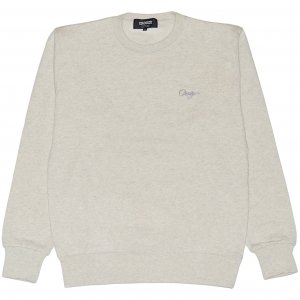 <img class='new_mark_img1' src='https://img.shop-pro.jp/img/new/icons1.gif' style='border:none;display:inline;margin:0px;padding:0px;width:auto;' />CROOZE Script Crewneck -オートミール