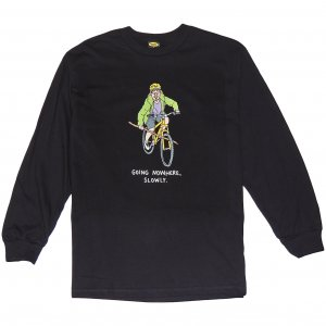 <img class='new_mark_img1' src='https://img.shop-pro.jp/img/new/icons1.gif' style='border:none;display:inline;margin:0px;padding:0px;width:auto;' />Brother Merle Boy Genius Long Sleeve Tee -ブラック
