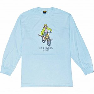 <img class='new_mark_img1' src='https://img.shop-pro.jp/img/new/icons1.gif' style='border:none;display:inline;margin:0px;padding:0px;width:auto;' />Brother Merle Boy Genius Long Sleeve Tee -ライトブルー