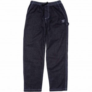 <img class='new_mark_img1' src='https://img.shop-pro.jp/img/new/icons1.gif' style='border:none;display:inline;margin:0px;padding:0px;width:auto;' />The Quiet Life Contrast Stitch Carpenter Pant -ダークデニム