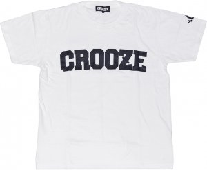 CROOZE Classic Logo Tee -ホワイト