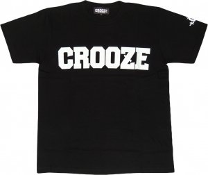 CROOZE Classic Logo Tee -ブラック