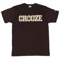 CROOZE SCOPE Tシャツ -ブラウン