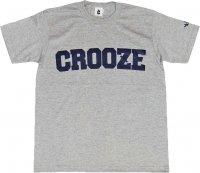 CROOZE Classic Logo Tee -グレー