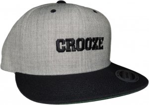 CROOZE クラシックロゴ スナップバック ブラック
