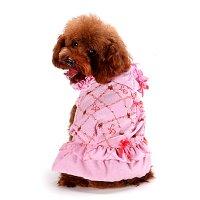 プチリボンパーカーワンピース ローズ lovabledog