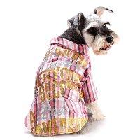 ラメプリチェックシャツ ピンク lovabledog