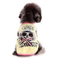 LOVELY DOGタンク ライトイエロー lovabledog