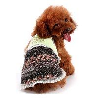 フラワーガーデンキャミソール ライトグリーン lovabledog