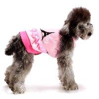 エッフェルステップワンピ ピンク lovabledog
