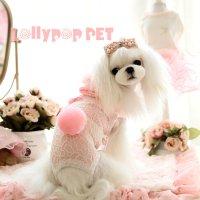 プーディーロンパース ピンク LOLLYPOP