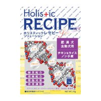 ホリスティックレセピー ドッグフード ソリューション チキン&ライス ライト 2.4kg
