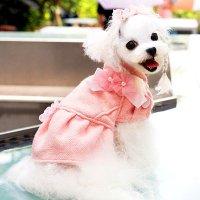 【OUTLET】ラシャブルームコート ピンク Sサイズ ABBYABBY