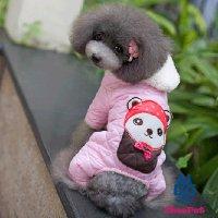 【OUTLET】キャラリボスーツ ピンク XLサイズ Chee Pet