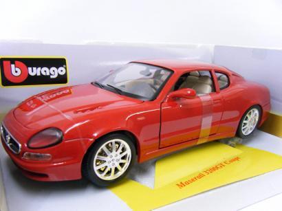ブラゴ 1/18 マセラティ 3200 GT クーペ(レッド)