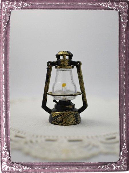 アンティーク調 ランタン ランプ * ドール用ミニチュア雑貨