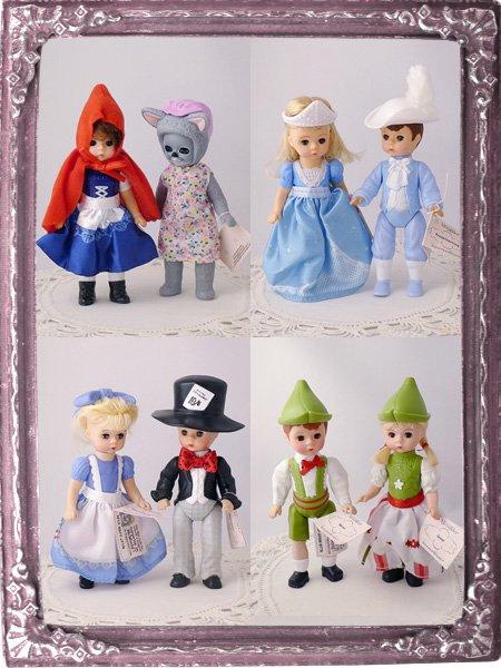 マダムアレクサンダーのお人形 童話モチーフ4種類