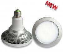 昼白色 防水IP65 LEDスポットライト 18W 照射角120° 街路広告・看板照明などに最適