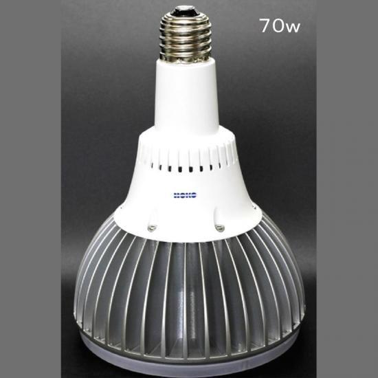 LED水銀灯 工事不要 工場 倉庫 体育館などに 200~400W 水銀灯代替LED 使用電力70W HK-1