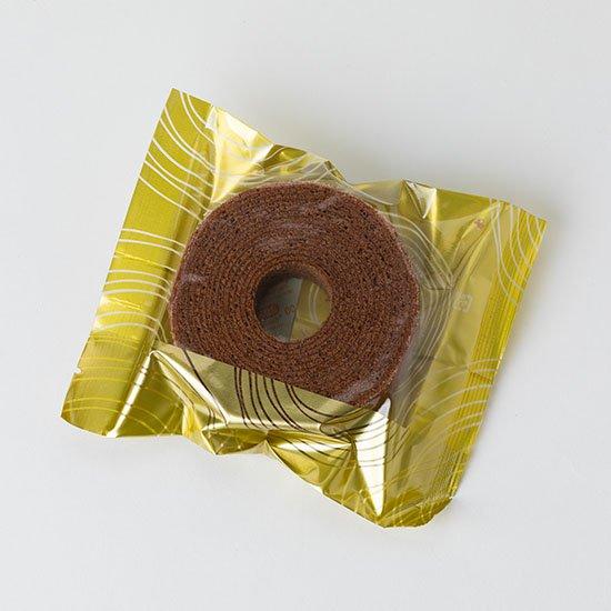 バウムクーヘン(チョコ)
