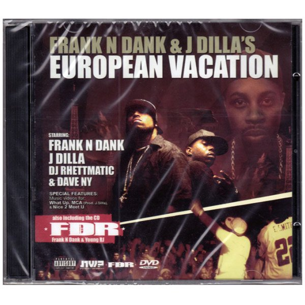 詳細画像[DVD]Frank N Dank & J Dillas - EUROPEAN VACATION [2枚組]