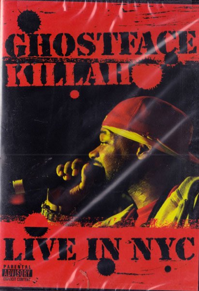 詳細画像[DVD]Ghostface Killah Live In NYC