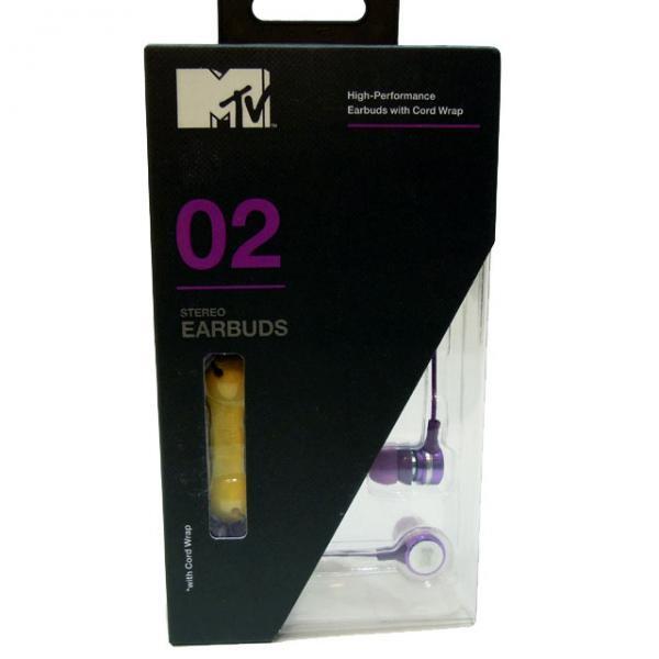 詳細画像MTV 02 イヤーフォン / パープル