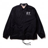 <img class='new_mark_img1' src='https://img.shop-pro.jp/img/new/icons5.gif' style='border:none;display:inline;margin:0px;padding:0px;width:auto;' />430【E.T. COACH JACKET】BLACK Mサイズ