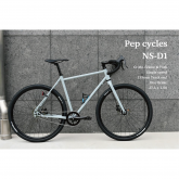 <img class='new_mark_img1' src='https://img.shop-pro.jp/img/new/icons5.gif' style='border:none;display:inline;margin:0px;padding:0px;width:auto;' />Pep cycles【NS-D1】GRAY