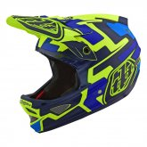 <img class='new_mark_img1' src='https://img.shop-pro.jp/img/new/icons5.gif' style='border:none;display:inline;margin:0px;padding:0px;width:auto;' />TROY LEE DESIGNS【D3 FIBER LITE SPEEDCORE HELMET】イエロー/ブルー