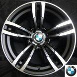 BMW【B5480/18インチ】8.0J +35 120X5H ポリッシュ/ブラック