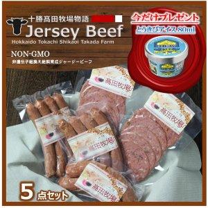 今ならお得がついてくる 十勝�田牧場物語 Jersey Beef 5点セット【冷凍商品】