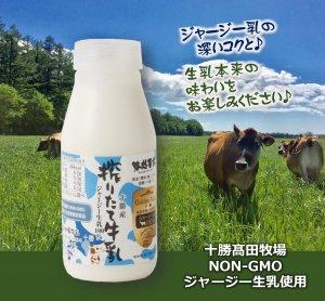 ジャージーブラウン 搾りたて ジャージー牛乳 200mlボトル【冷蔵 ...
