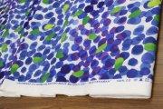 ムスティッカマア(MUSTIKKAMAA)ブルー×グリーン(50cm) コットンファブリック マリメッコ(marimekko)
