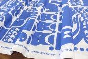カンテレーンクッツ(KANTELEENKUTSU)ブルー コットンファブリック(50cm)マリメッコ(marimekko)0525