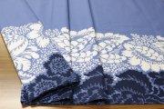 アナナス(Ananas)ブルー コットンファブリック(62cm) マリメッコ(marimekko)