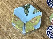 アラビア ARABIA ヘイニ・リータフフタ heini riitahuhta ヘキサゴン hexagon バタフライ Butterfly ライトブルー 010101