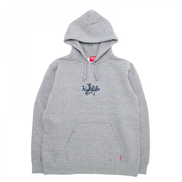 <img class='new_mark_img1' src='//img.shop-pro.jp/img/new/icons5.gif' style='border:none;display:inline;margin:0px;padding:0px;width:auto;' />HighLife / Dolphin Hoodie - HeatherGrey -