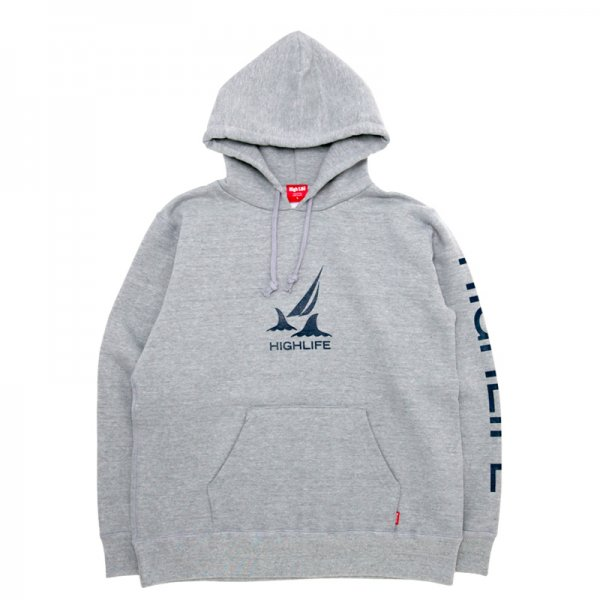 <img class='new_mark_img1' src='//img.shop-pro.jp/img/new/icons5.gif' style='border:none;display:inline;margin:0px;padding:0px;width:auto;' />HighLife / Voyage Life Hoodie - HeatherGrey -