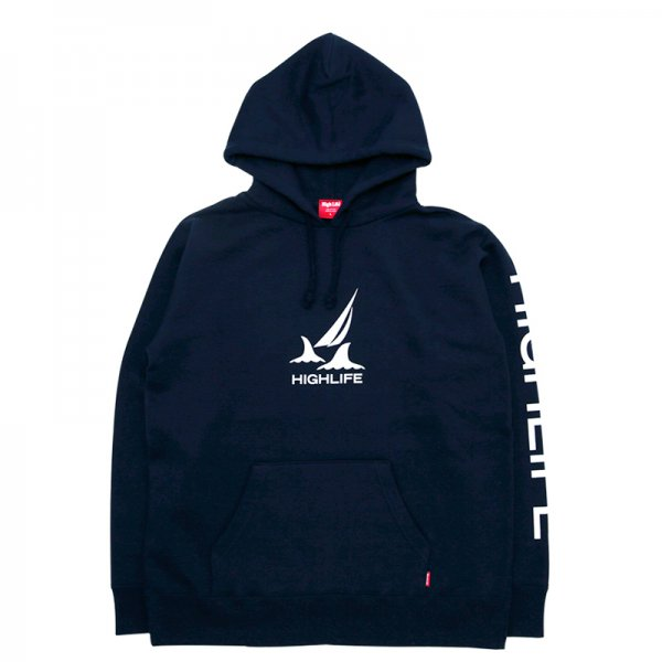 <img class='new_mark_img1' src='//img.shop-pro.jp/img/new/icons5.gif' style='border:none;display:inline;margin:0px;padding:0px;width:auto;' />HighLife / Voyage Life Hoodie - Navy -