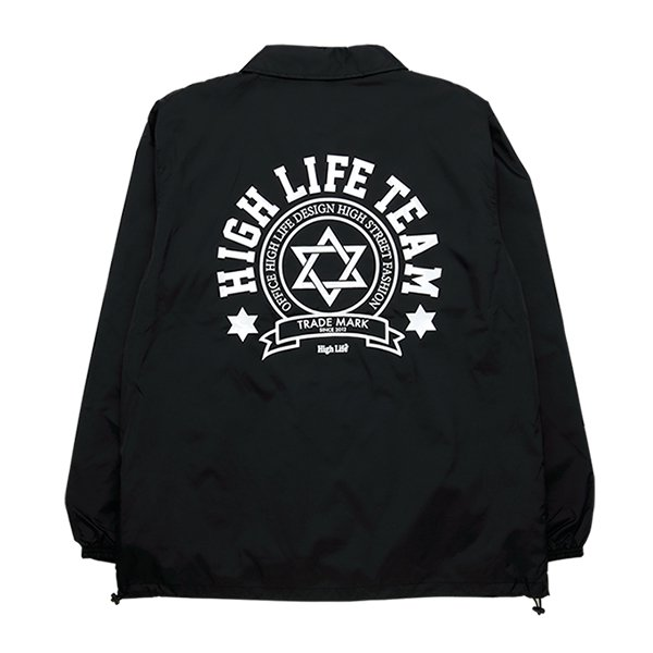 <img class='new_mark_img1' src='//img.shop-pro.jp/img/new/icons5.gif' style='border:none;display:inline;margin:0px;padding:0px;width:auto;' />HighLife / HighLife TEAM Coaches Jackets - Black -