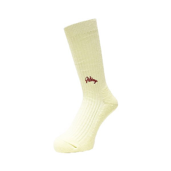 <img class='new_mark_img1' src='//img.shop-pro.jp/img/new/icons1.gif' style='border:none;display:inline;margin:0px;padding:0px;width:auto;' />Whimsy / Emjay Socks - Cream -