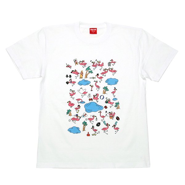 HighLife / Flamingos Art Tee - Base 1st ANV Edition -