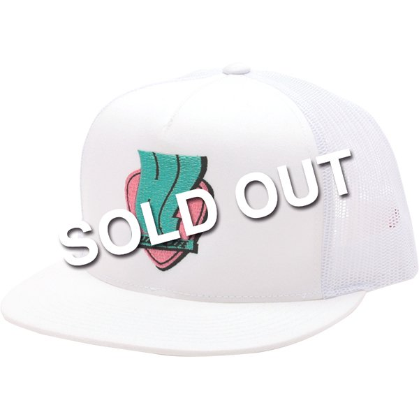 <img class='new_mark_img1' src='//img.shop-pro.jp/img/new/icons47.gif' style='border:none;display:inline;margin:0px;padding:0px;width:auto;' />HighLife / Signboard 5P Mash Snapback Cap - White -