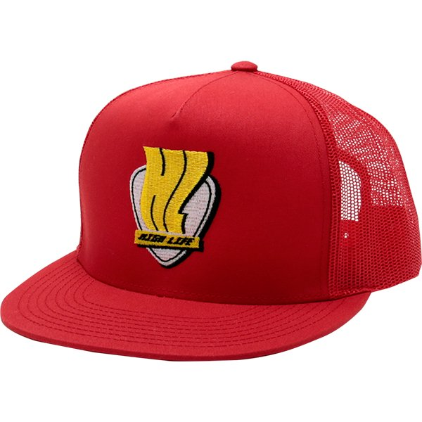 HighLife / Signboard 5P Mash Snapback Cap - Red -